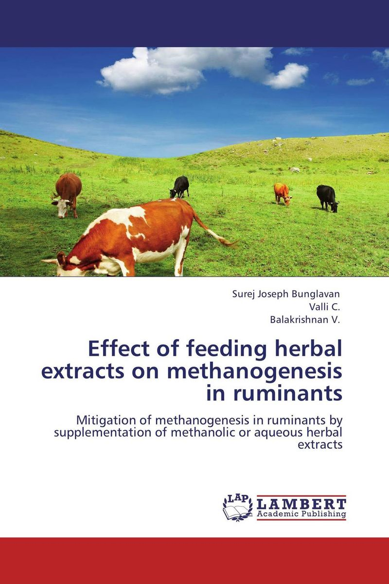 Effect of feeding  herbal extracts on methanogenesis in ruminants in vitro activities of asparagus racemosus root extracts