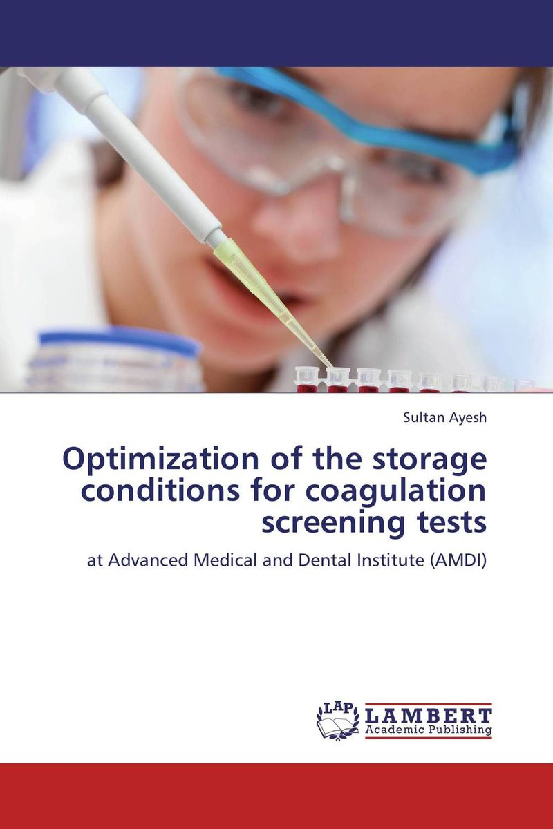 Optimization of the storage conditions for coagulation screening tests rover time rt 255