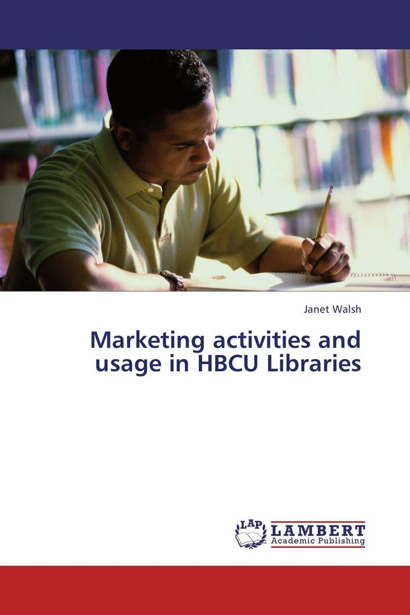 Marketing activities and usage in HBCU Libraries a decision support tool for library book inventory management