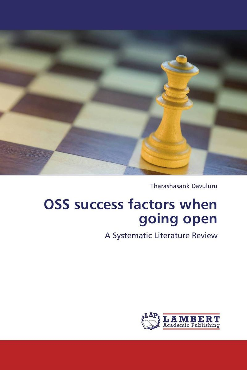OSS success factors when going open assessing factors promoting open source software quality
