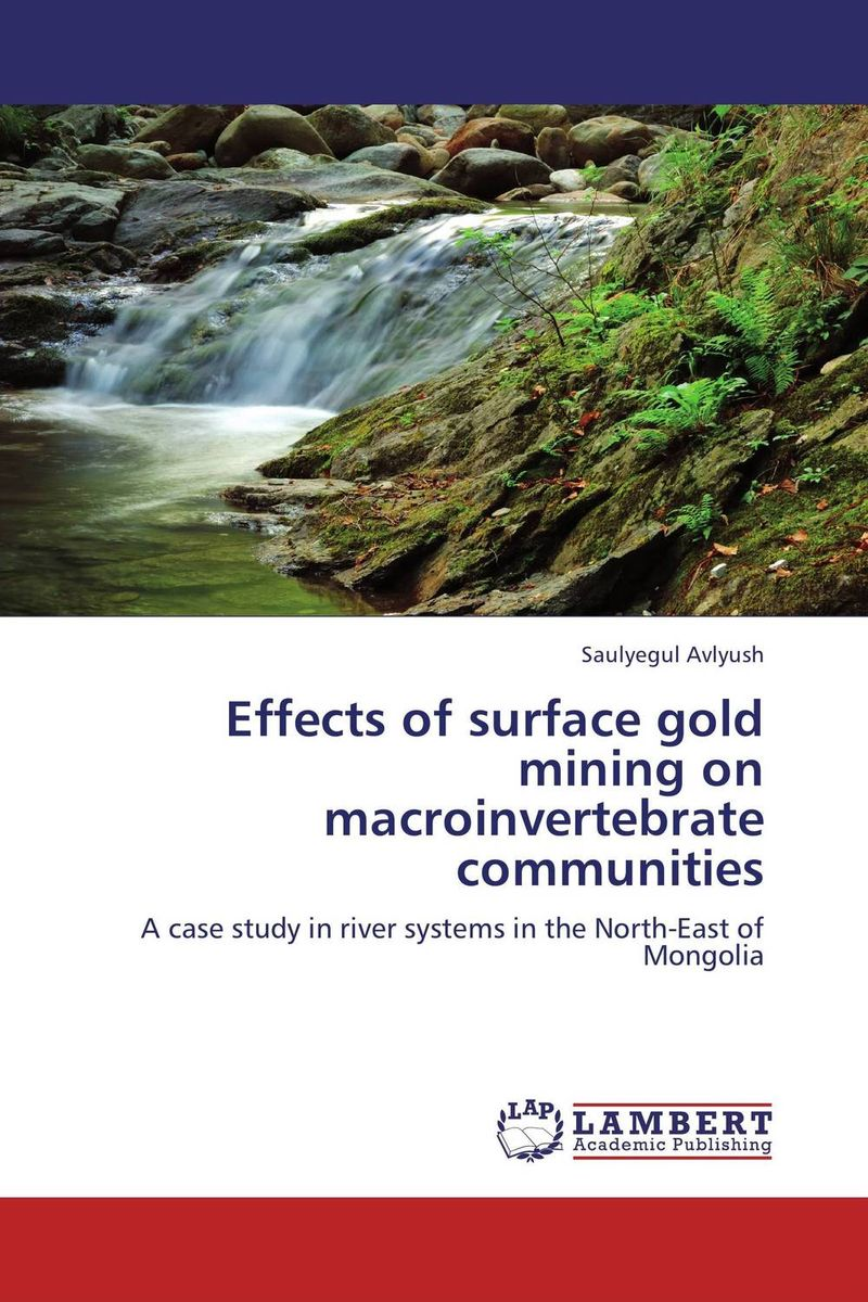 Effects of surface gold mining on macroinvertebrate communities chemical studies on toxic effects of cadmium