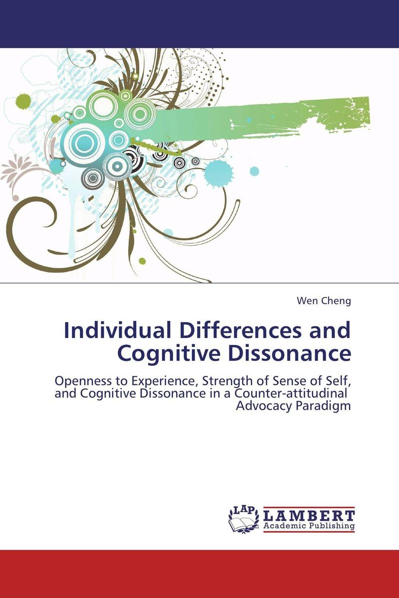 Individual Differences and Cognitive Dissonance personality traits