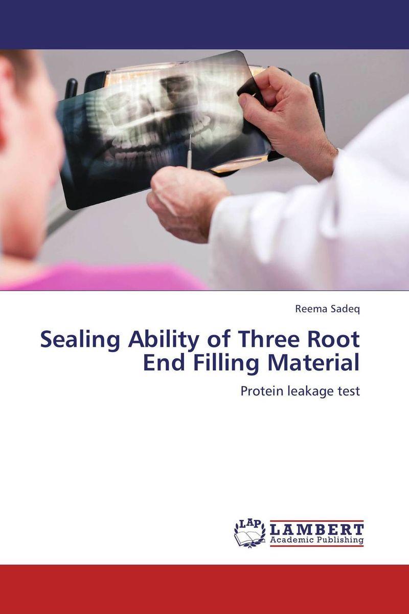 купить  Sealing Ability of Three Root End Filling Material  по цене 4552 рублей