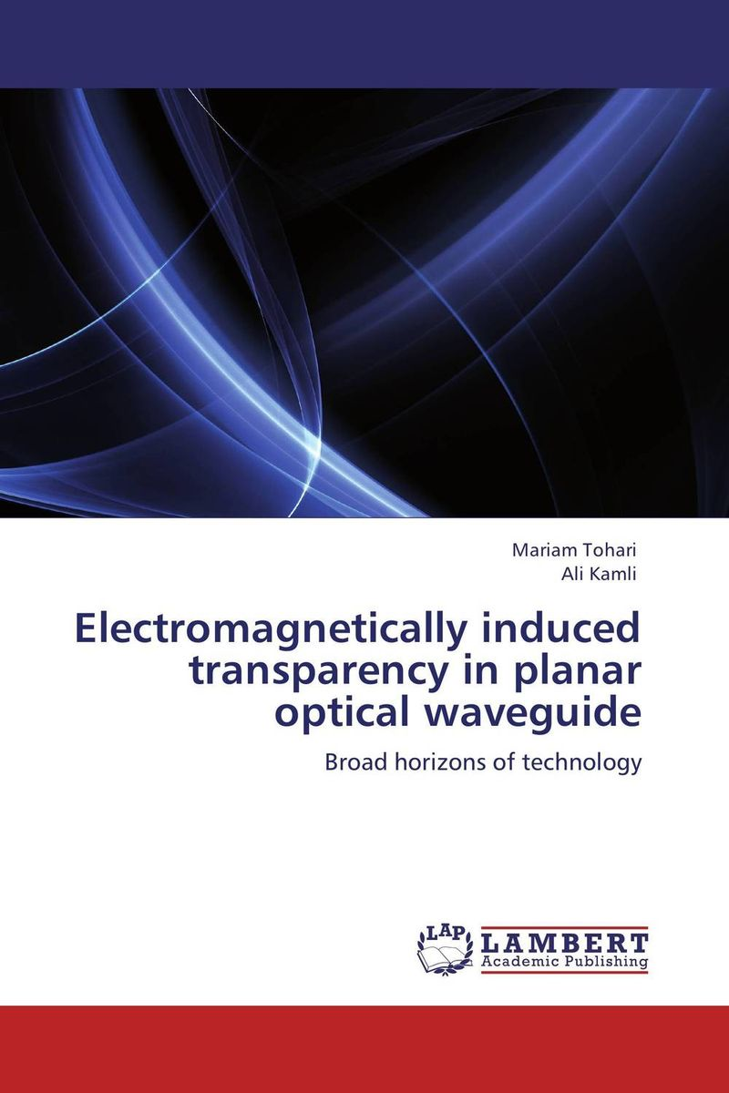 Electromagnetically induced transparency in planar optical waveguide stress induced birefringence in polymer optical waveguides
