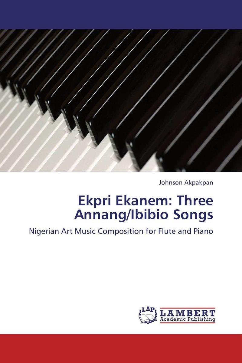 Ekpri Ekanem: Three Annang/Ibibio Songs concise history of western music 2e im