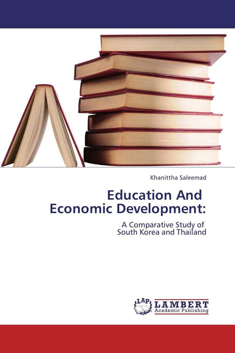Education And   Economic Development: economic methodology