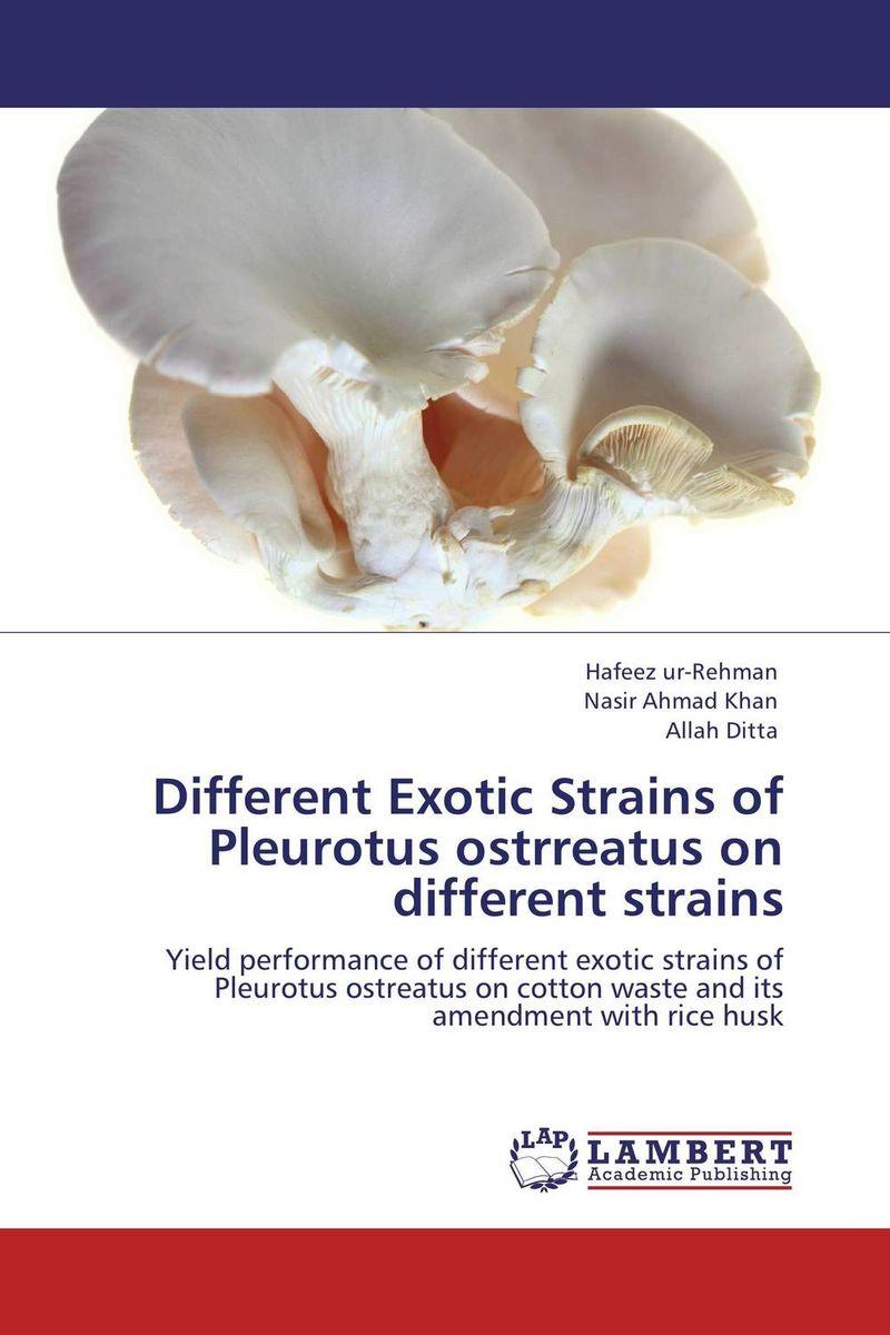 Different Exotic Strains of Pleurotus ostrreatus on different strains husk
