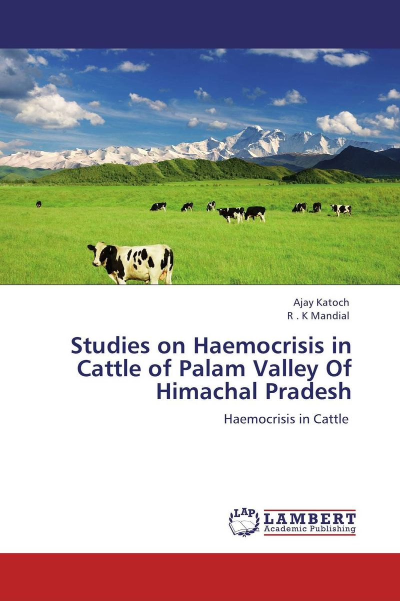 Studies on Haemocrisis in Cattle of Palam Valley Of Himachal Pradesh prava mayengbam haematological and blood biochemical profile of frieswal cattle