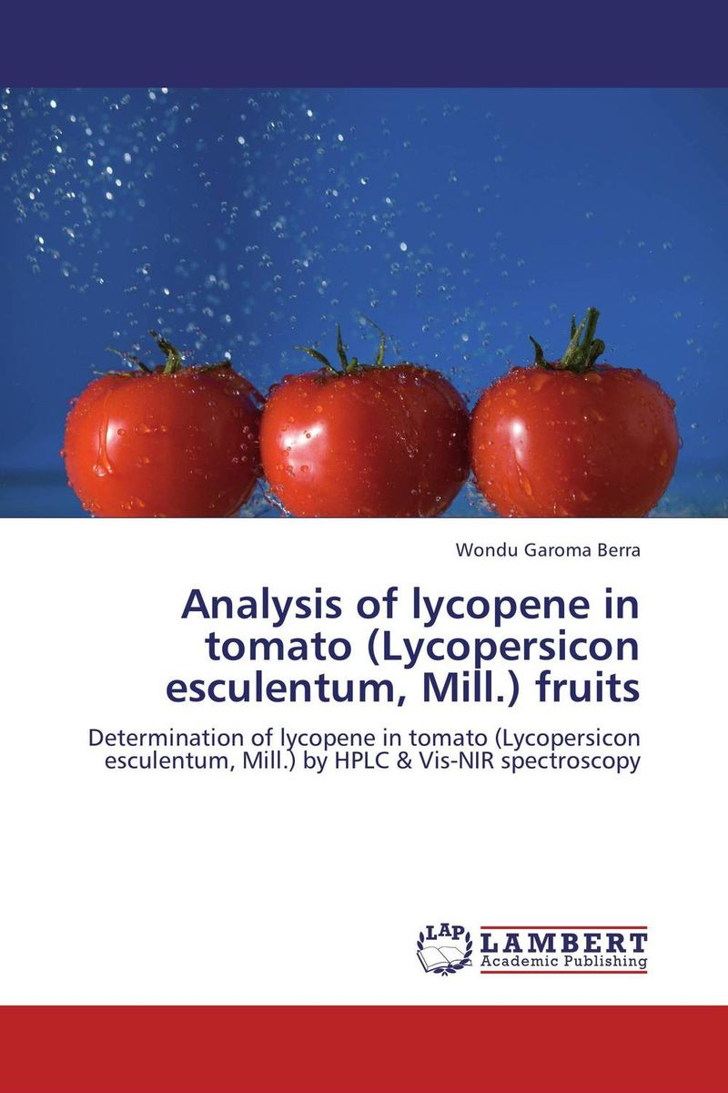 Analysis of lycopene in tomato (Lycopersicon esculentum, Mill.) fruits lycopene 40 mg supports prostate