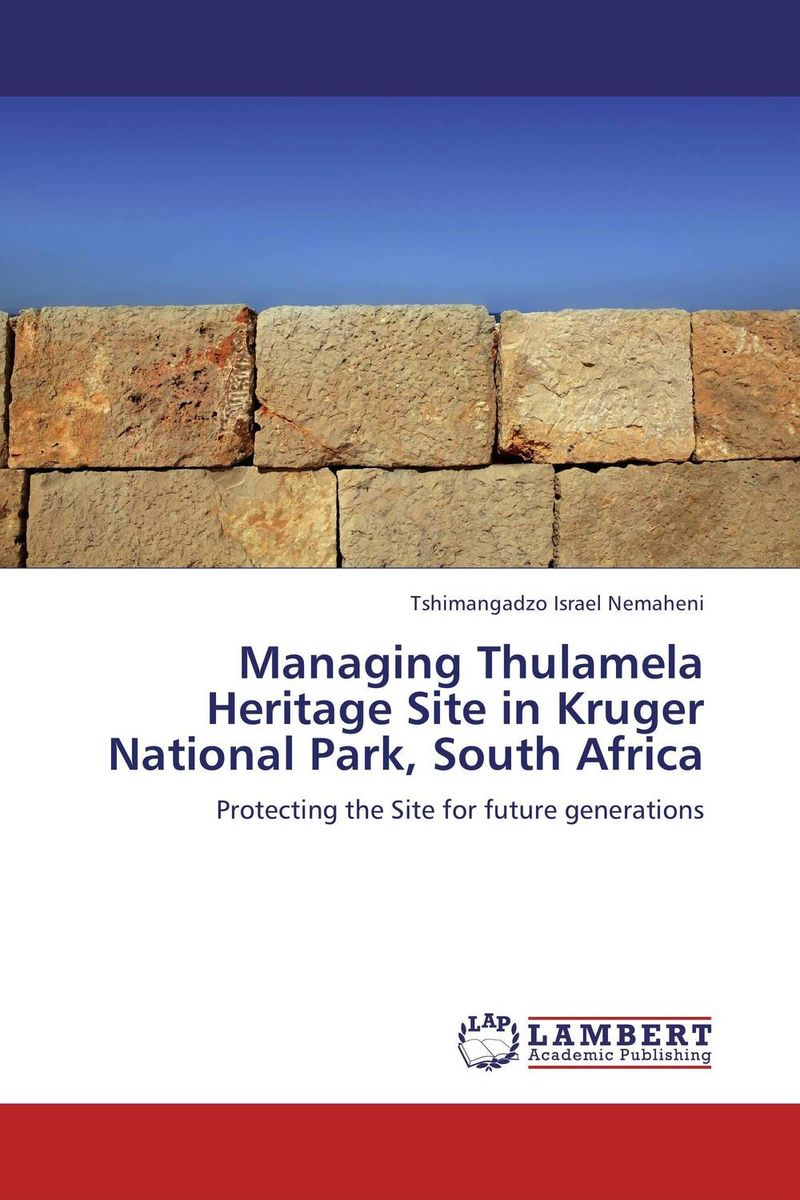 Managing Thulamela Heritage Site in Kruger National Park, South Africa толстовка element vermont zh marine
