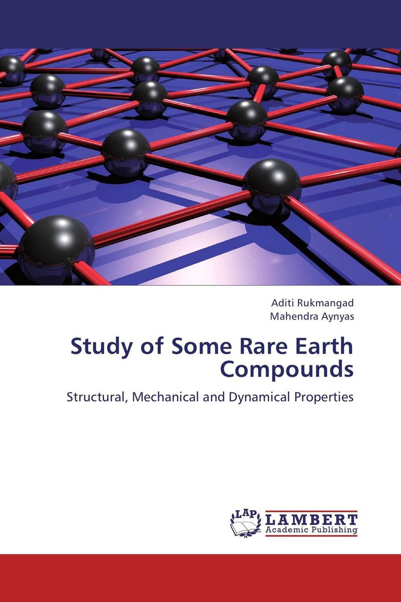 Study of Some Rare Earth Compounds verne j journey to the centre of the earth