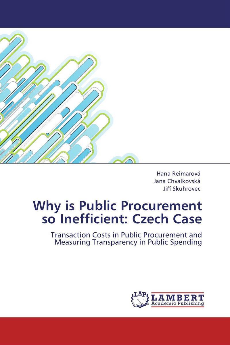Why is Public Procurement so Inefficient: Czech Case public value