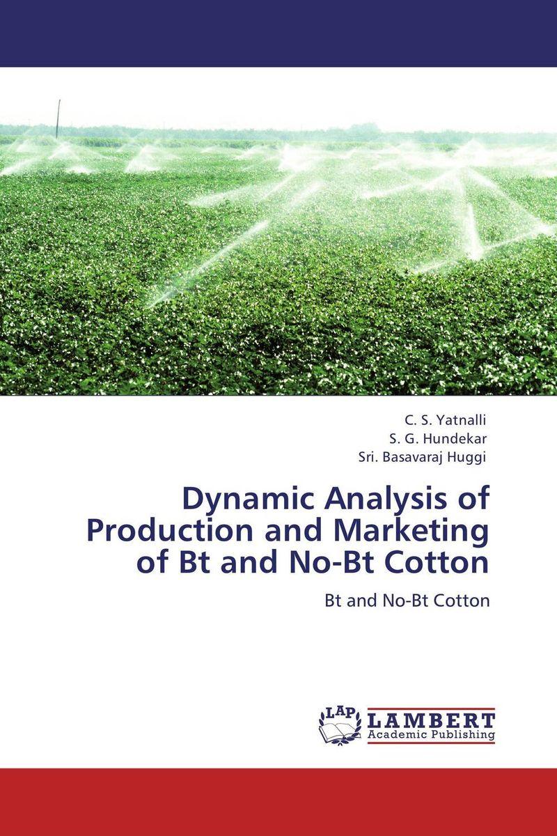 Dynamic Analysis of Production and Marketing of Bt and No-Bt Cotton shoji lal bairwa rakesh singh and saket kushwaha economics of milk marketing