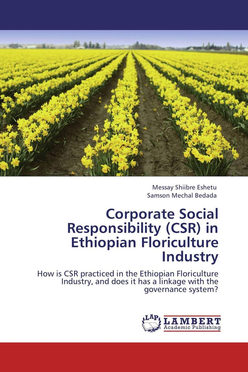 Corporate Social Responsibility (CSR) in Ethiopian Floriculture Industry common tern its breeding biology and social