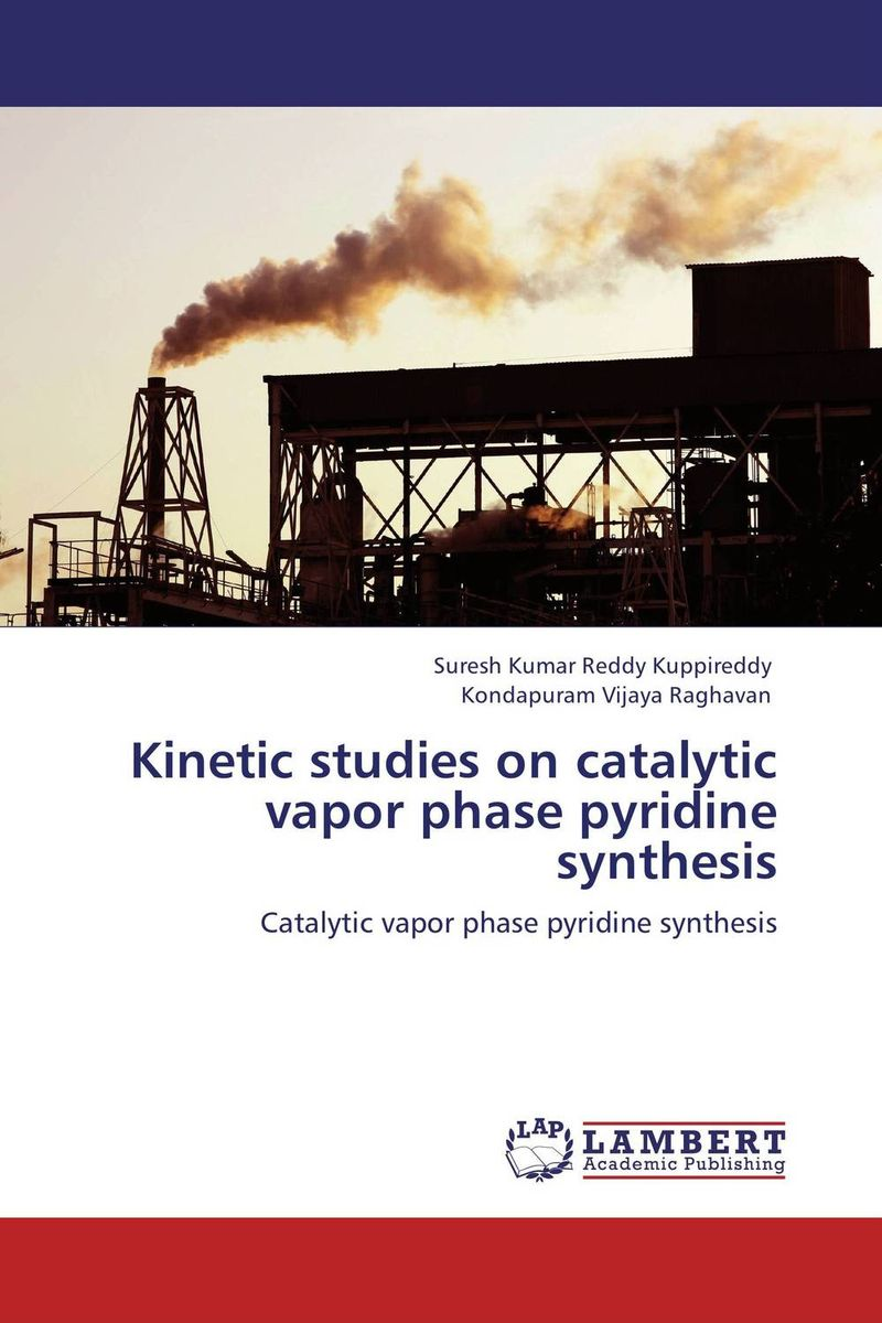 Kinetic studies on catalytic vapor phase pyridine synthesis studies on schiff bases derived from acetophenones