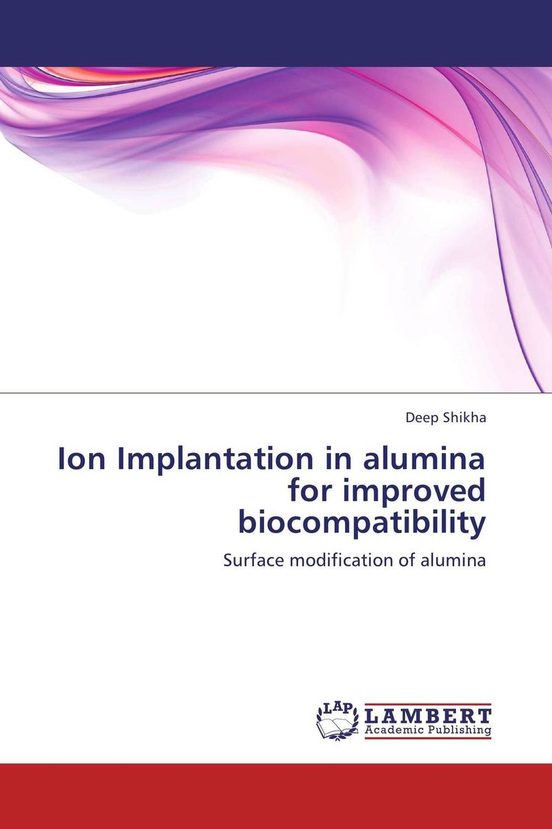 Ion Implantation in alumina for improved biocompatibility simranjeet kaur amaninder singh and pranav gupta surface properties of dental materials under simulated tooth wear