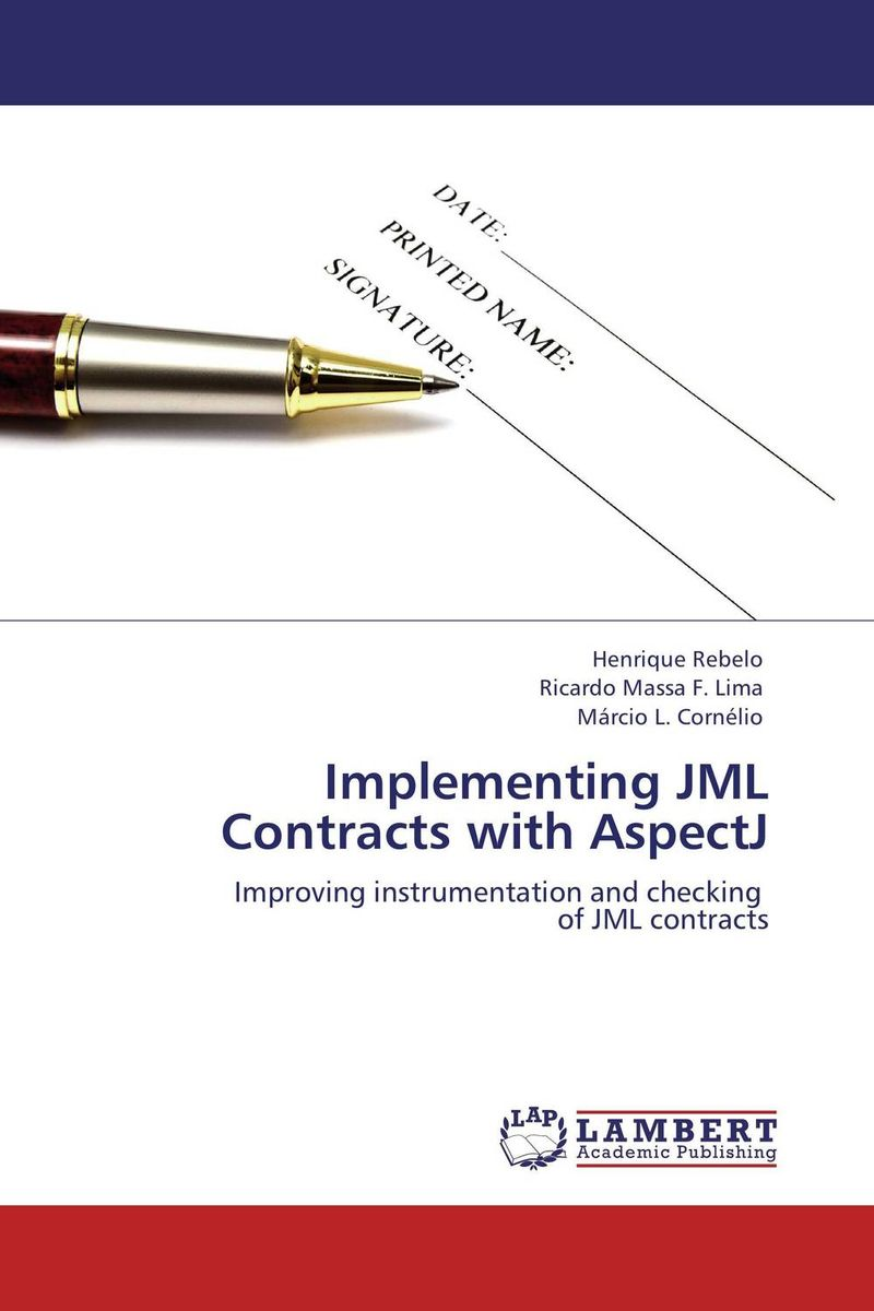 Implementing JML Contracts with AspectJ compiler construction