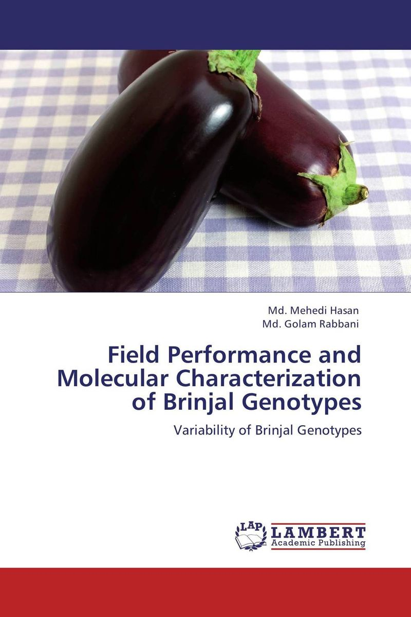 Field Performance and Molecular Characterization of Brinjal Genotypes anil arjun hake sanjay jha and suman kumar jha molecular and biochemical characterization of karanja derris indica