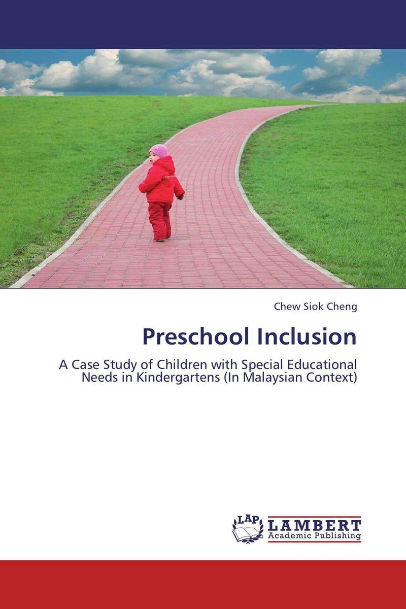 Preschool Inclusion education preschool