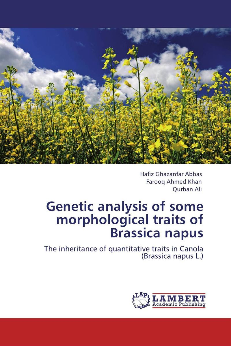 Zakazat.ru Genetic analysis of some morphological traits of Brassica napus
