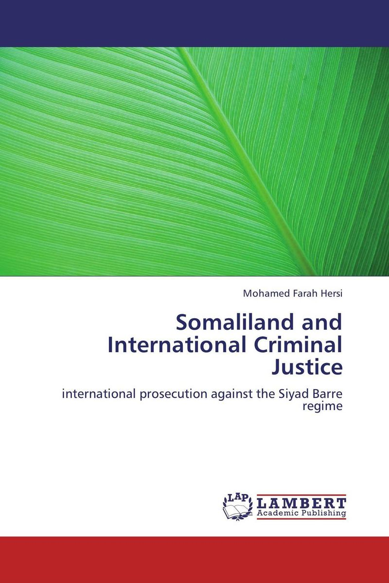 Somaliland and International Criminal Justice victorian america and the civil war