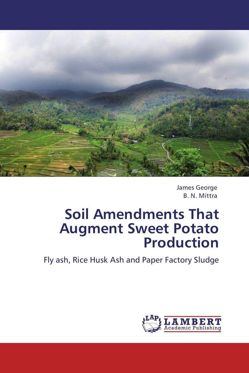 Soil Amendments That Augment Sweet Potato Production husk