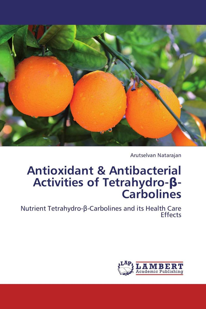 Antioxidant & Antibacterial Activities of Tetrahydro-?-Carbolines the treatment of erectile dysfunction prostate supplement health care slippers