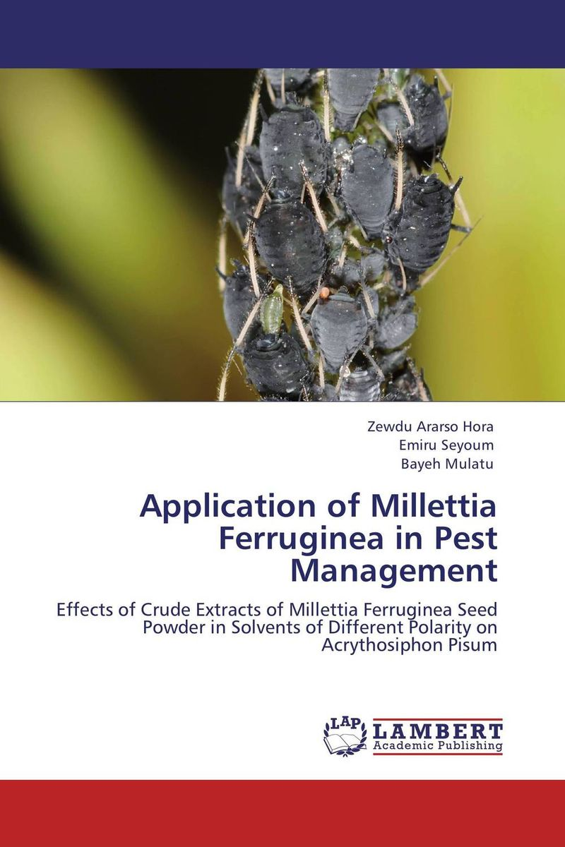Application of Millettia Ferruginea in Pest Management application of semiochemicals for post harvest pest management