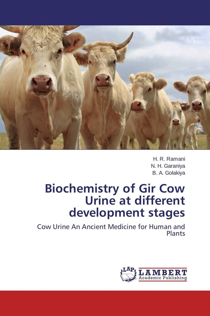 Biochemistry of Gir Cow Urine at different development stages transition period in cows nutrition metabolism and metabolic disease