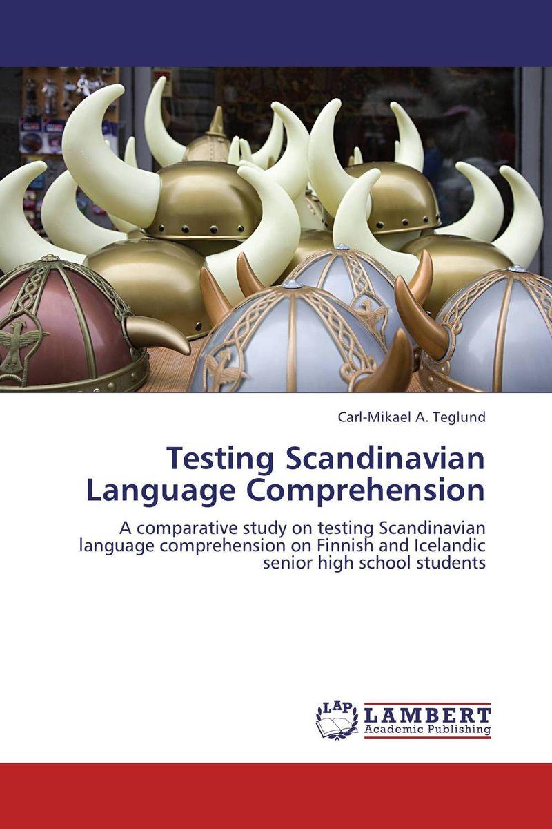 Testing Scandinavian Language Comprehension herbert w seliger second language research methods