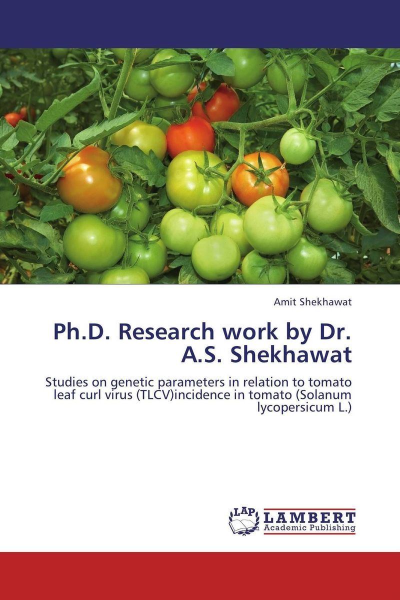 Ph.D. Research work by Dr. A.S. Shekhawat mf2300 f2