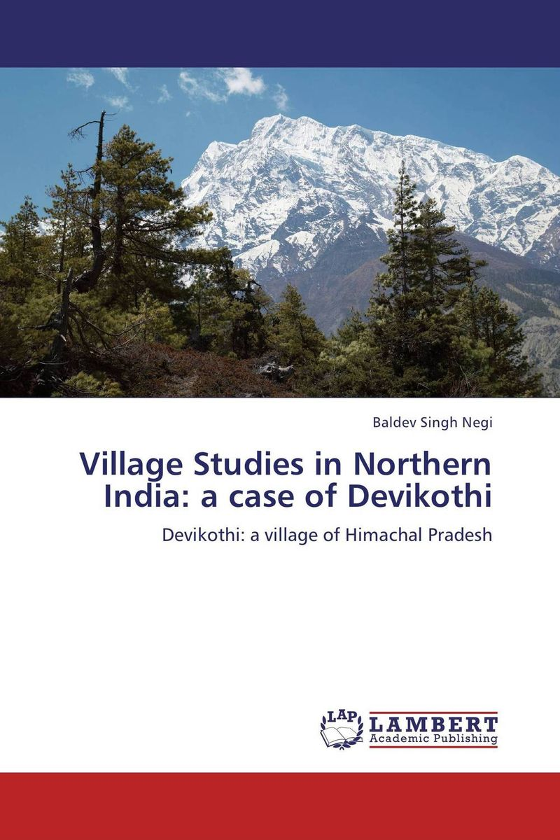 Village Studies in Northern India: a case of Devikothi community resilience of village udekaran punjab india
