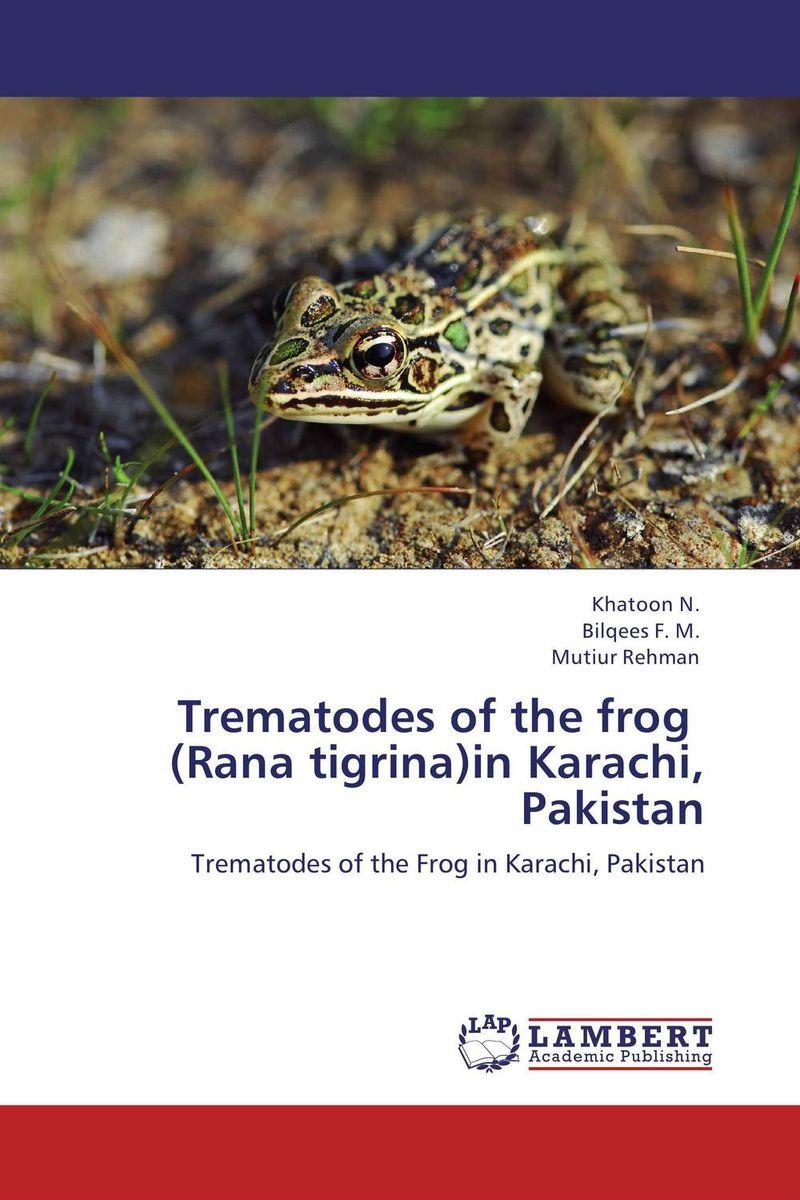 Trematodes of the frog   (Rana tigrina)in Karachi, Pakistan et al design туфли et al design модель 2884004