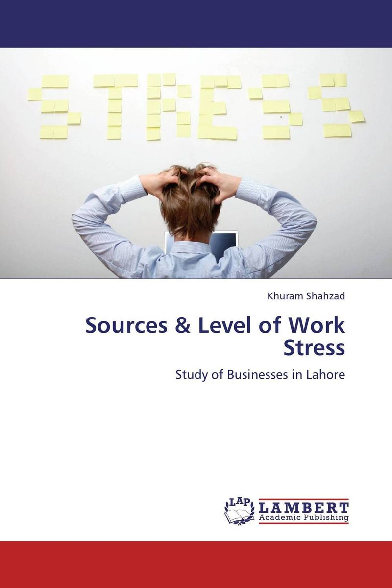 Sources & Level of Work Stress sadiq sagheer job stress role conflict work life balance impacts on sales personnel