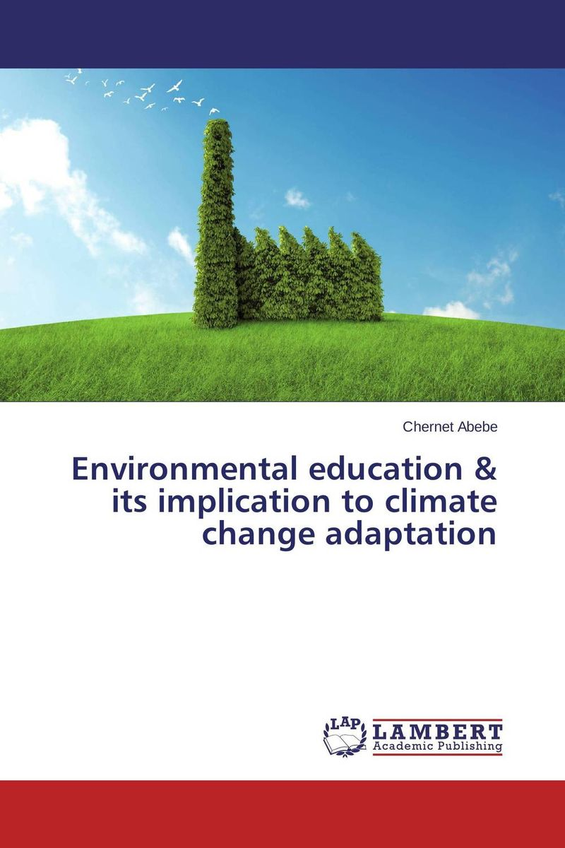 Environmental education & its implication to climate change adaptation все цены