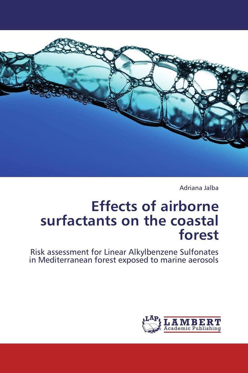 Effects of airborne surfactants on the coastal forest surfactants effect on hardness of dental stone and investment material