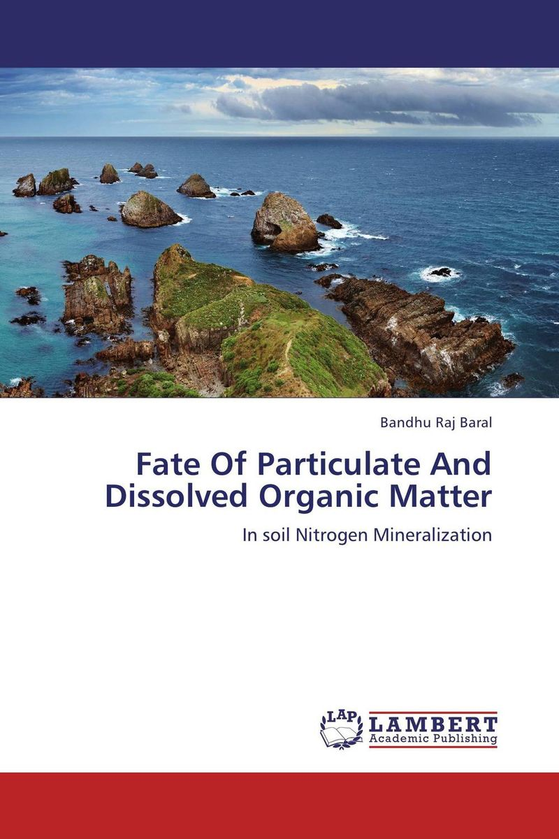 Fate Of Particulate And Dissolved Organic Matter hornby n how to be good