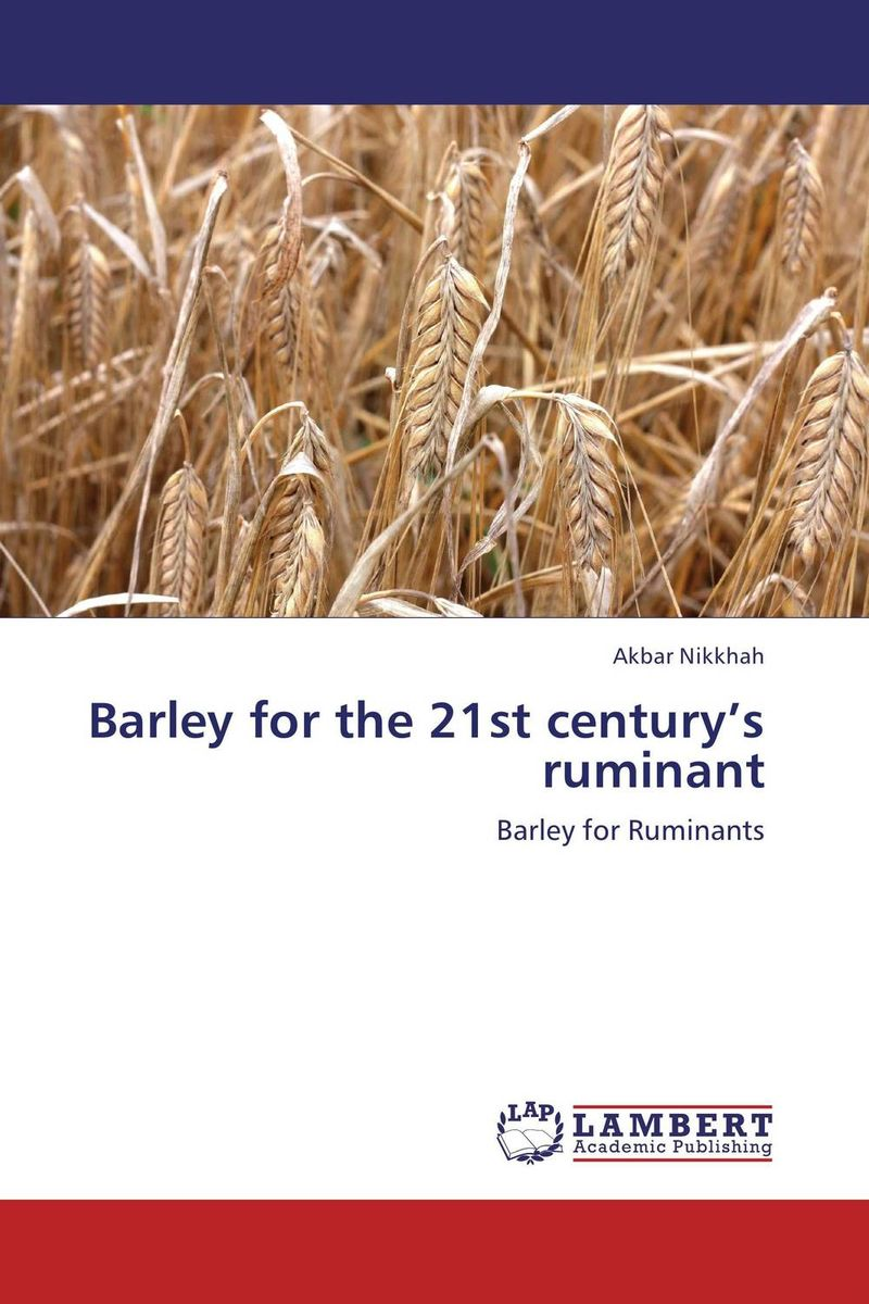 Barley for the 21st century's ruminant butterflies in the barley