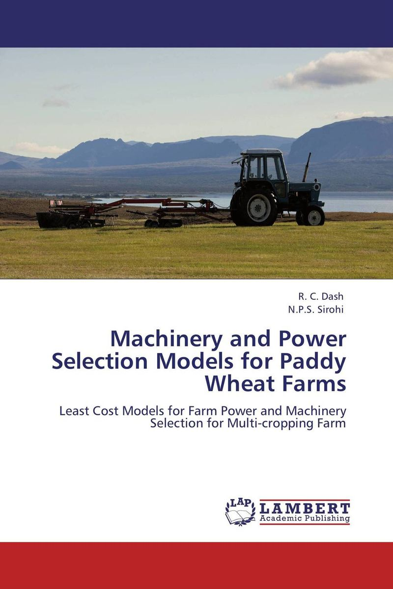 Machinery and Power Selection Models for Paddy Wheat Farms seunghwan shin and venky shankar selection bias and heterogeneity in severity models