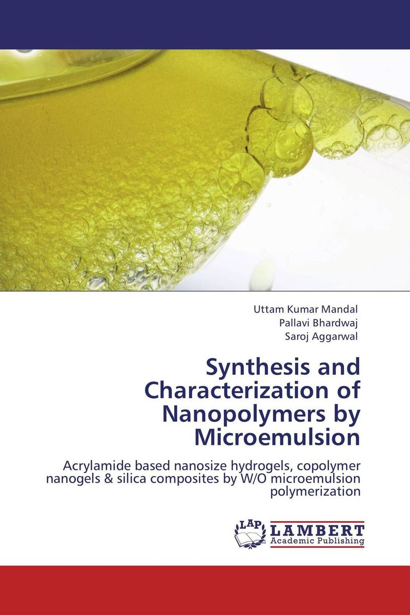 цены  Synthesis and Characterization of Nanopolymers by Microemulsion