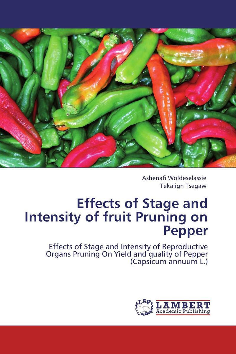Effects of Stage and Intensity of fruit Pruning on Pepper patrick p the curious charms of arthur pepper