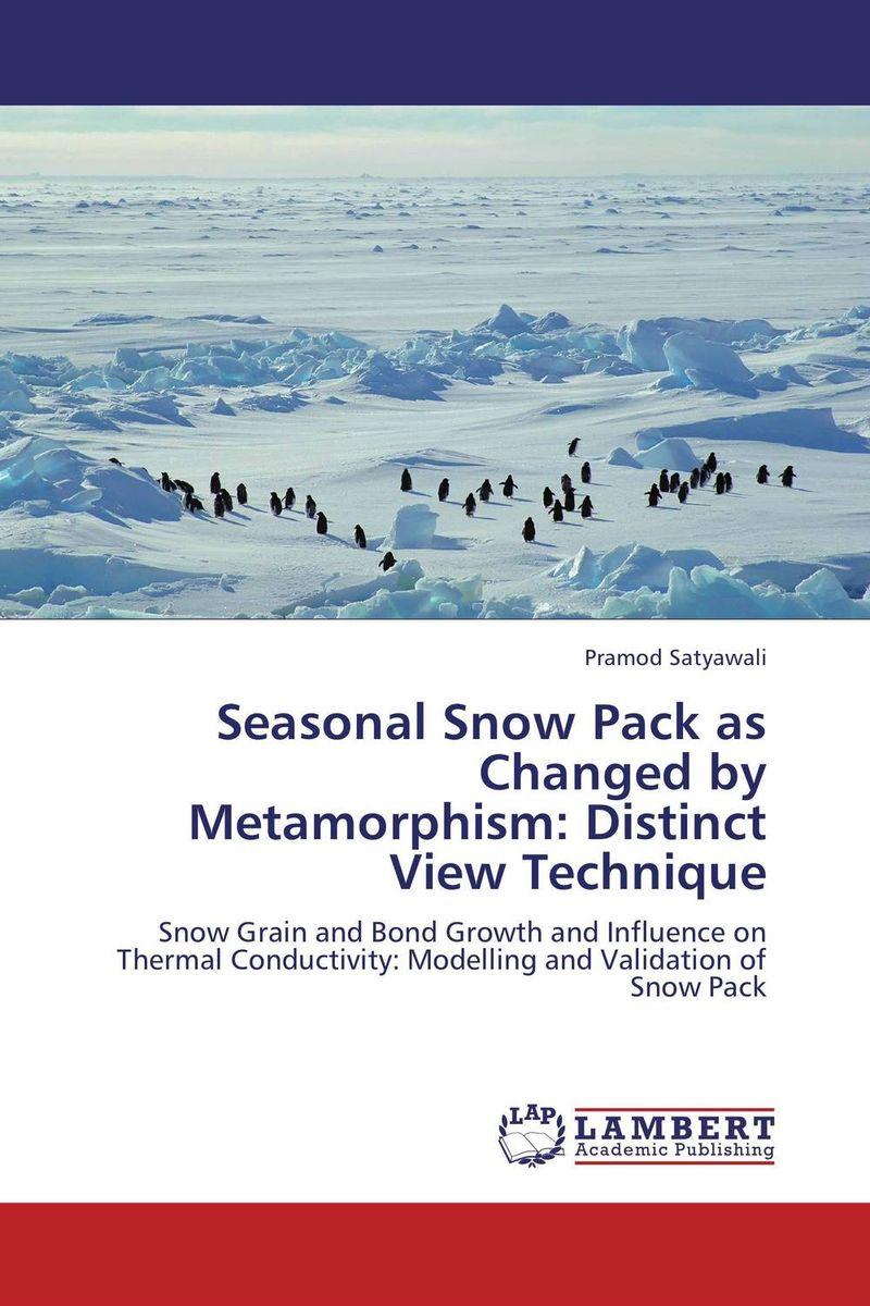 Seasonal Snow Pack as Changed by Metamorphism: Distinct View Technique snow peak pack