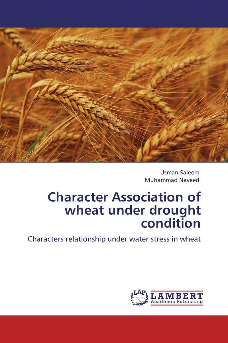 Character Association of wheat under drought condition krishnendra singh nama kiran choudhary and hari mohan meena microbial association of root nodules of vicia faba l kota rajasthan
