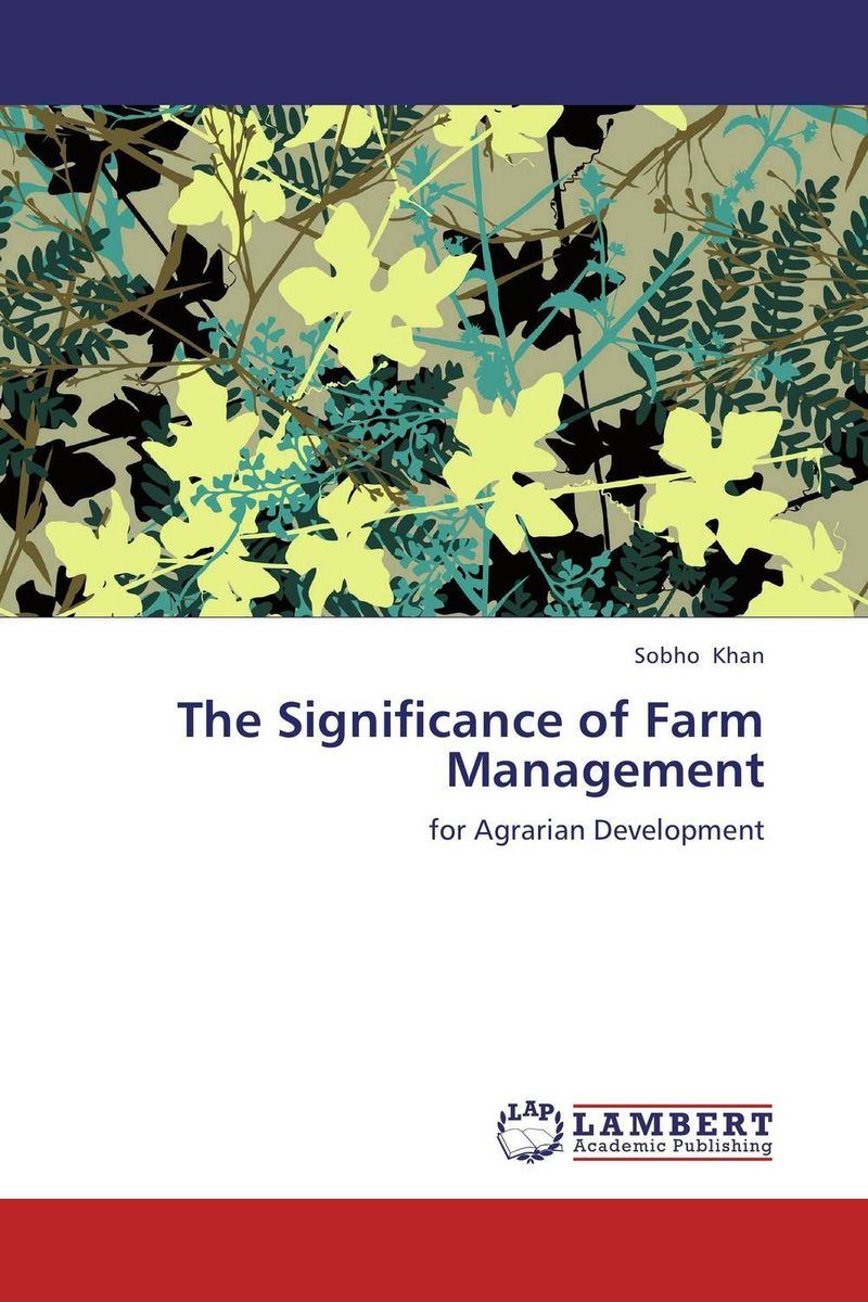 The Significance of Farm Management agricultural marketing management
