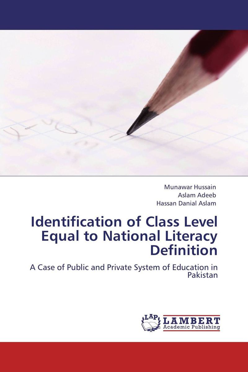 Identification of Class Level  Equal to National Literacy Definition reading literacy for adolescents
