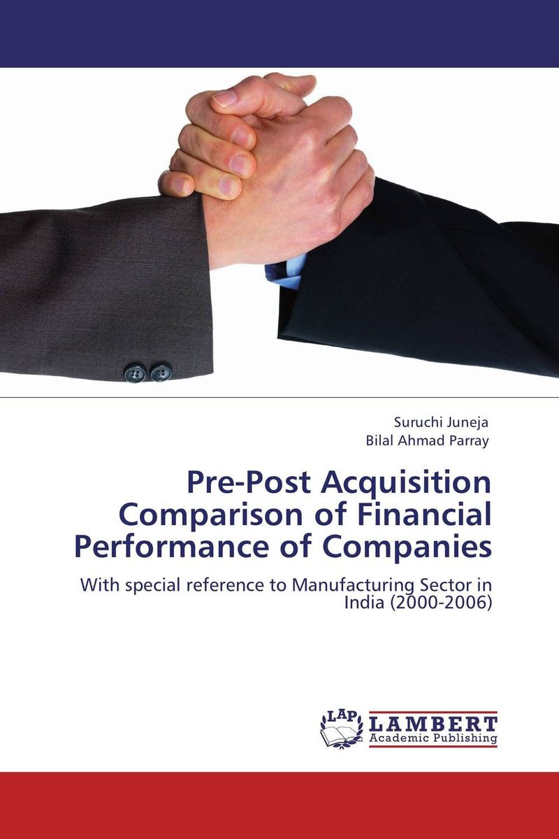 Pre-Post Acquisition Comparison of Financial Performance of Companies майка классическая printio sadhus of india