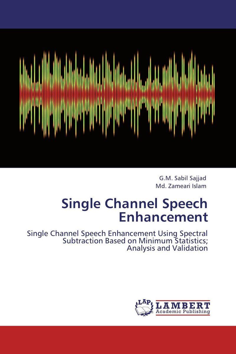 Single Channel Speech Enhancement