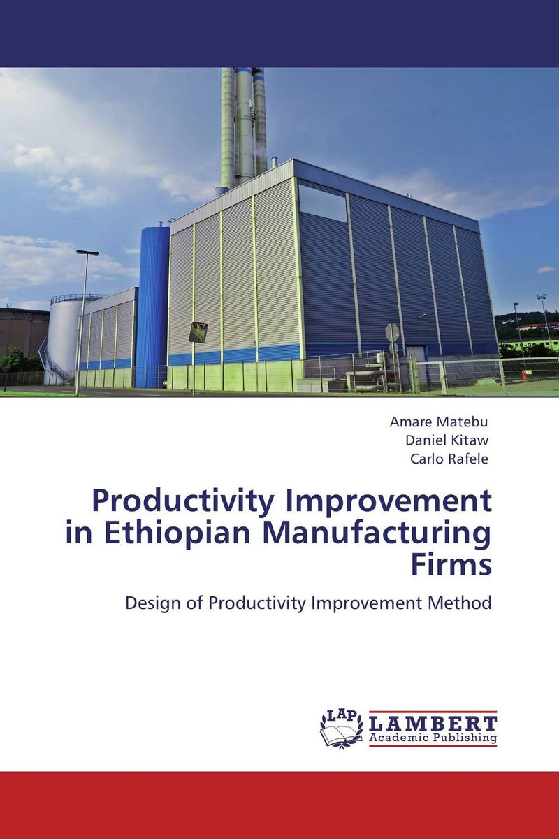 Productivity Improvement in Ethiopian Manufacturing Firms amare matebu daniel kitaw and carlo rafele productivity improvement in ethiopian manufacturing firms