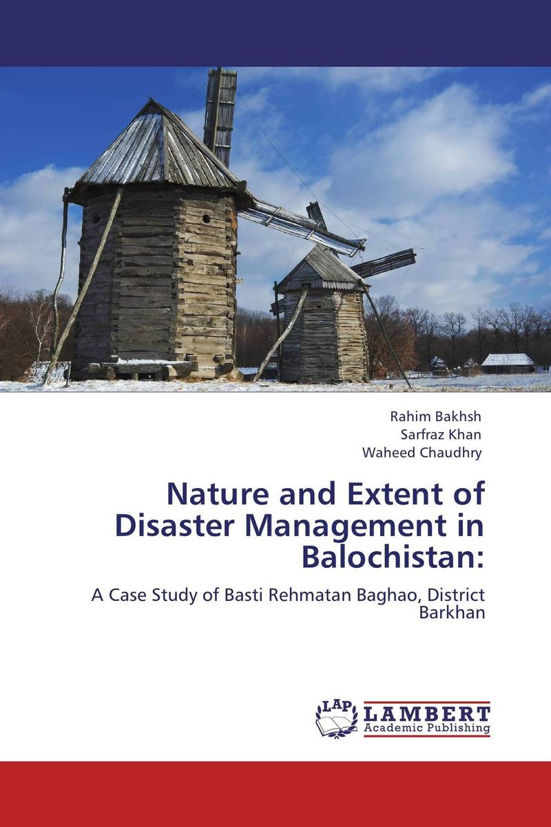 Nature and Extent of Disaster Management in Balochistan: indigenous knowledge and techniques for key pest animals management