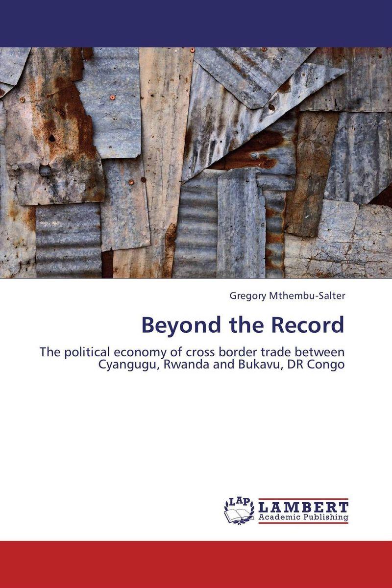 Beyond the Record economic methodology